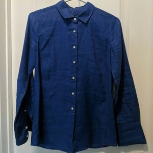 J. Crew linen small button up